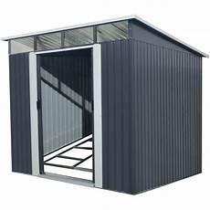 gartenhäuser aus metall gartenhaus aus metall 6 67m 178 skylight anthrazit