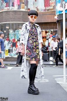 harajuku street fashion w kobinai never mind the xu