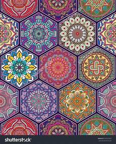 Arabische Muster Malvorlagen Hochzeit Nahtloses Muster Vintage Dekorative Elemente