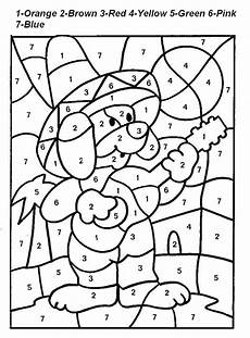 free printable color by number coloring pages best coloring pages for kids
