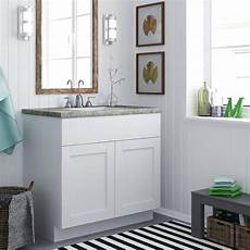 Bathroom Countertops Overstock by Shop Altra 30 Inch White Shaker Style Bath Vanity Cabinet