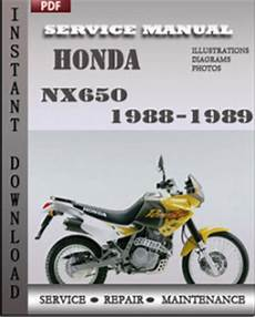 small engine repair manuals free download 1989 honda accord electronic throttle control honda nx650 1988 1989 service manual download repair service manual pdf