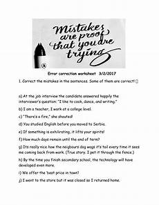 identifying spelling mistakes worksheets 22483 embedding quotations correcting the errors worksheet answers