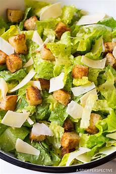 Caesar Salad Rezept - the best steakhouse caesar salad recipe a spicy perspective