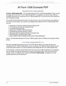 af form 1206 pdf the 9 secrets you will never know about af omnichannelretailingforum com