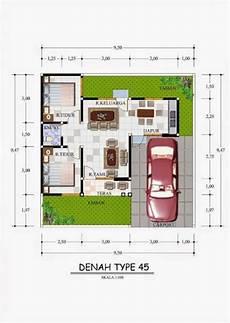 80 Rumah Minimalis Type 70 Kamar 3 Typehom