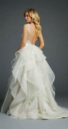Wedding Gowns Low Back 60 low back wedding dresses deer pearl flowers