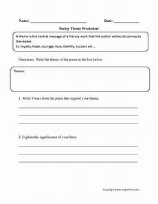 poetry theme worksheets 25363 writing worksheets poetry writing worksheets