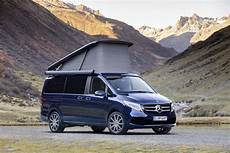 mercedes refreshes the v class and cer vans