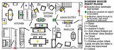 lizzie borden house floor plan house charts lizzie andrew borden virtual museum and library