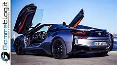 bmw i8 roadster interior exterior car design drive