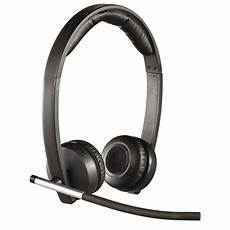 micro casque sans fil logitech wireless headset dual h820e 981 000517 achat