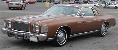 Chrysler Cordoba  Wikiwand