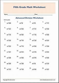 division worksheets for grade 5 6602 grade 5 division worksheets