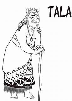Gratis Malvorlagen Vaiana Ausmalbilder Vaiana Tala Ausmalbilder Ausmalen Disney