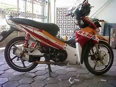 Modif Motor Revo 110cc by Foto Modifikasi Motor Revo Fit Injeksi Terkeren Dan
