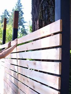 How To Build A Diy Backyard Fence Part Ii In 2019 Diy