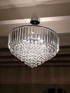 a stunning laura ashley vienna large glass ceiling pendant in perfect condition reduced to 163 100