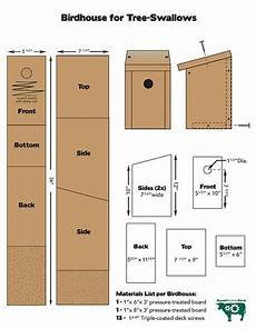 tree swallow house plans swallow houses bird house kits bird house plans