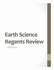 regents earth science worksheet answers 13250 new york state earth science regents review infographics by