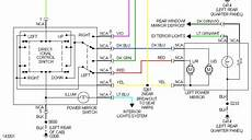 2008 ford f 250 mirror wiring diagram ford electric mirror schematic