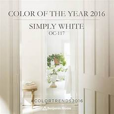 benjamin moore color of the year 2016 simply white places in the home