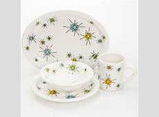 Franciscan style dinnerware set, perfect for a retro