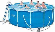 בריכת שחייה bestway steel pro frame pools 366x122 כולל