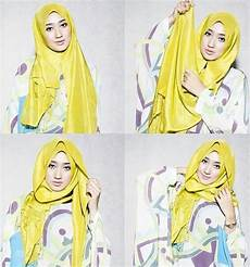 Tips Tutorial Pashmina Simple Mudah Dan Modis
