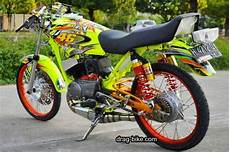 Modif Rx King Simple by 2002 Modifikasi Rx King Road Race Drag Simple Lengkap