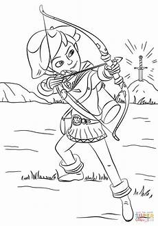 Robin Malvorlagen Robin From Mischief In Sherwood Coloring Page Free