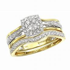 affordable luxurman diamond engagement ring wedding band 14k gold 0 4ct