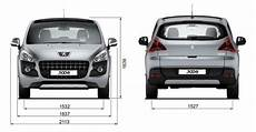 Peugeot 3008 Dimensions 173 Uk Exterior And Interior Sizes
