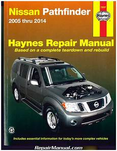 car repair manuals download 1995 nissan pathfinder user handbook nissan pathfinder 2005 2014 haynes suv repair manual