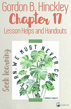 for you worksheets 18525 chapter 17 continue in the great process of learning relief society lesson helps relief