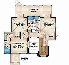 lanai house plans covered lanai with fireplace 66288we 1st floor master