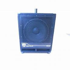 pa powered subwoofers used rockville rbg12s pa subwoofer powered subwoofer guitar center