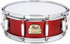 chad smith snare pearl chad smith signature snare drum 5 quot x14 quot lacquer sweetwater