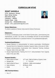 resume format for diploma mechanical engineer experienced 1 year experience design automotive
