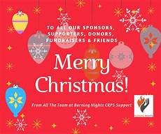 wishing you all a merry christmas happy new year 2019 burning nights crps