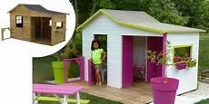 Maisonnette En Bois Avec Bac A Cabanes Abri Jardin