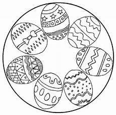 Gratis Malvorlagen Ostern Mandala Ausmalbilder Ostereier Mandala Mit Bildern