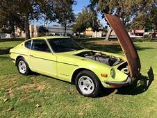 1972 Datsun 240z In Orig Condition Lime Yellow  Classic
