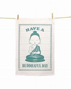 geschirrtuch a buddhaful day mit bildern