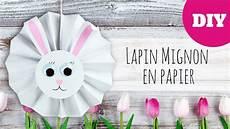 bricolage de p 226 ques lapin mignon en papier facile