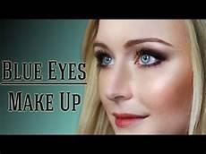 Augen Make Up Blaue Augen - make up f 252 r blaue augen tutorial by kisu
