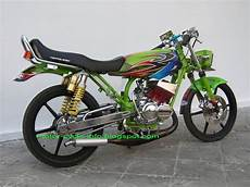 Modifikasi Yamaha Rx King by Modifikasi Motor Rx King Airbrush Motor Modif