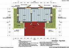 insulated dog house plan home garden plans dh301 insulated dog house plans