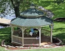 vinyl double roof octagon gazebos gazebos by material gazebocreations com