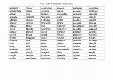 spelling worksheets year 3 22538 year 3 and 4 spelling words teaching resources